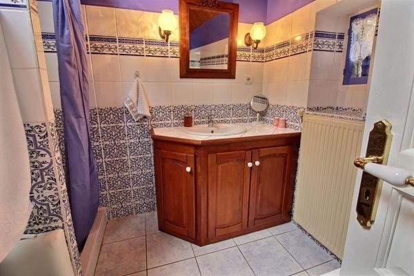 Salle de bain RDC/Douche/Baignoire