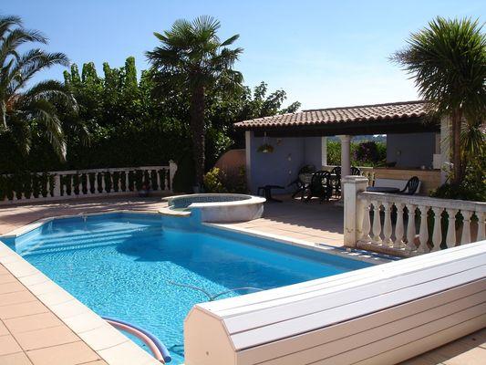 M-Masse piscine terrasse