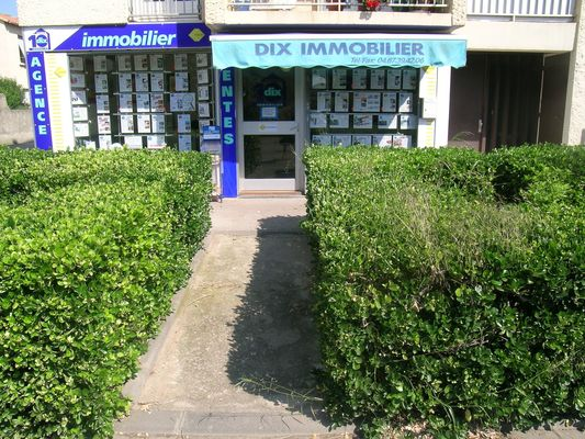 Agence Dix Immobilier - VALRAS-PLAGE