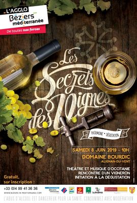 Secrets des vignes Alignan-du-Vent