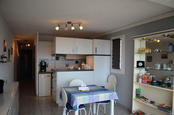 Appartement Barrial Valras Séjour cuisine