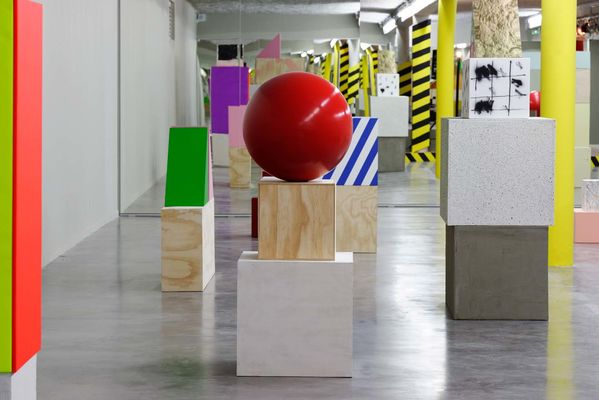 Bruno Peinado, il faut reconstruire l'hacienda, vue de l'exposition