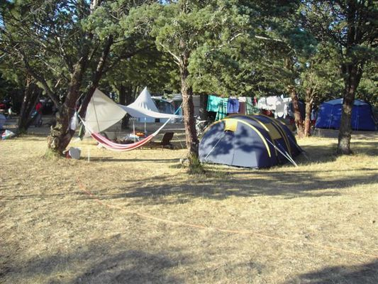 Camping Clairac_tentes_Béziers