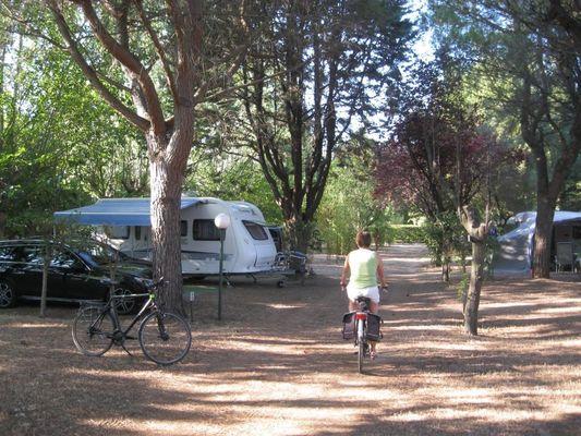 Camping Le Rebau16 - Montblanc