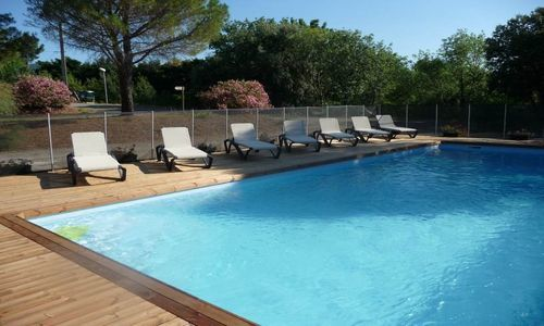 Camping Les Terrasses St Chinian - Piscine 1