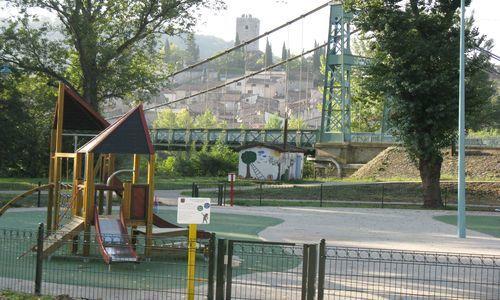 Camping Municipal de l'Orb Jeux Enfants
