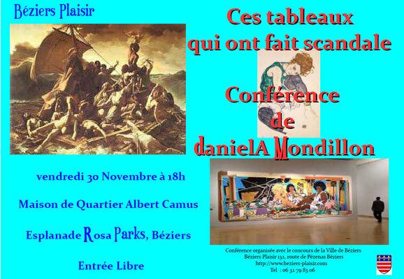 Conférence : Ces tableaux qui ont fait scandale