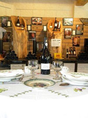DEG - Caveau de Berlou - 001 -Table