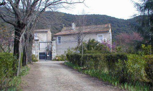 DEG - Roquebrun - Vin - Prieuré ST ANDRE - Le domaine