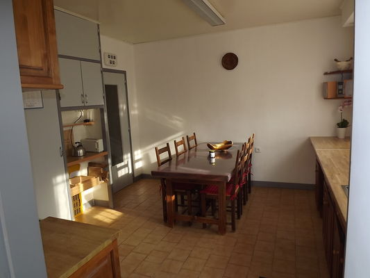 La cuisine -salle à manger