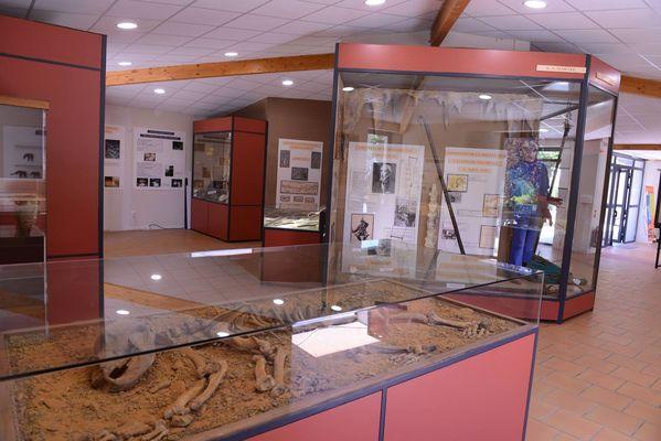 Fileuse de verre-Espace muséographique©2018-Palais de la Fileuse de Verre-OTMSPC