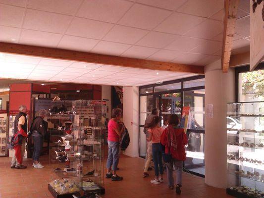 Fileuse de verre-Espace muséographique2©2018-Palais de la Fileuse de Verre-OTMSPC