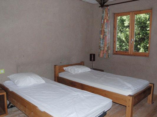 Chambres modulables avec des lits gigognes