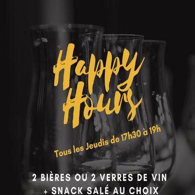 LES JEUDIS DE L'HAPPY HOURS