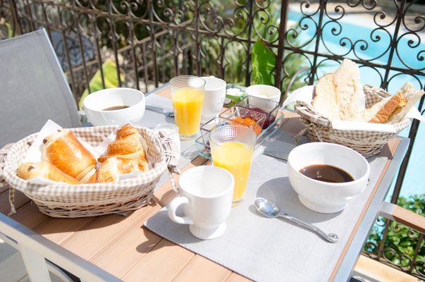 Maison d'hôtes Oasis du Golf - Petit déjeuner