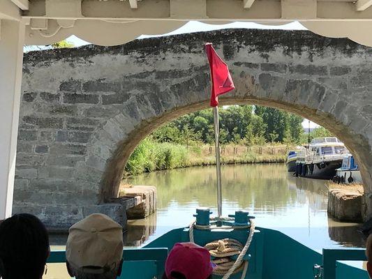 Pont de Colombiers depuis le Santa Maria