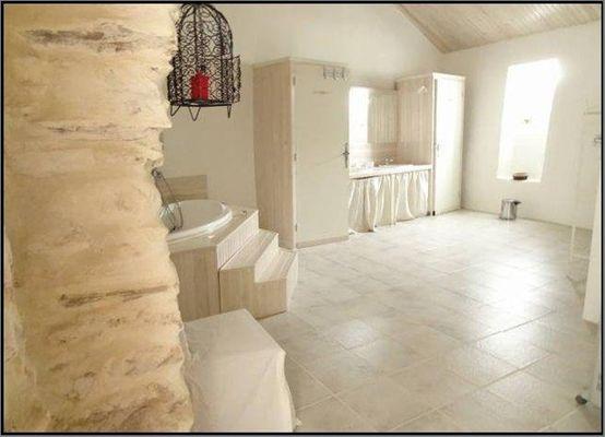 La Maison d'Hôtes Poujol Suite Familiale Salle de Bains