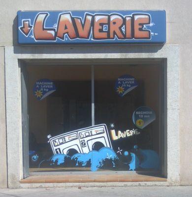 Laverie Bleu et Blanc 2