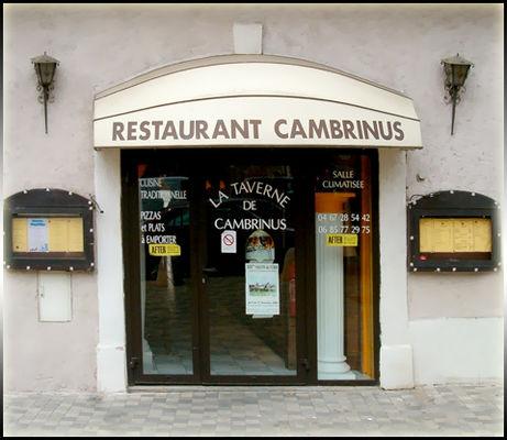 PHOTO TAVERNE CAMBRINUS Béziers
