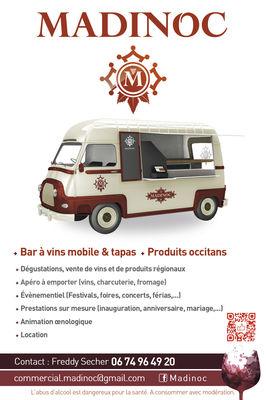 Présentation wine truck