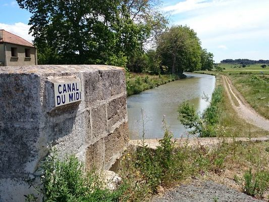LES CANAL A VELO - QUARANTE - PONT DE SERIEGE - PONT DE MALVIES