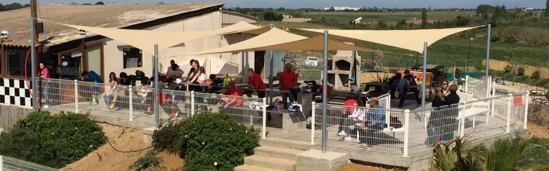 Sun Karting terrasse