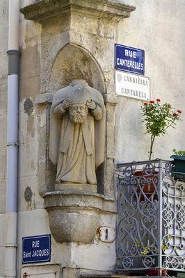 Saint Aphrodise-rue canterelles-JP Degas