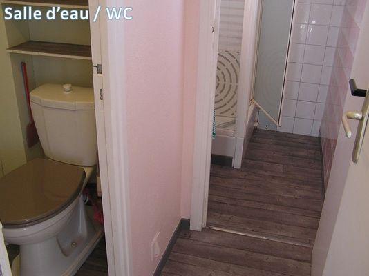 Salle d'eau - WC