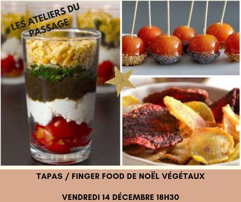 Tapas Finger Food de Noël Végétaux