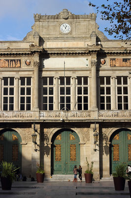 Theatre municipal facade-photo Karine Gregoire