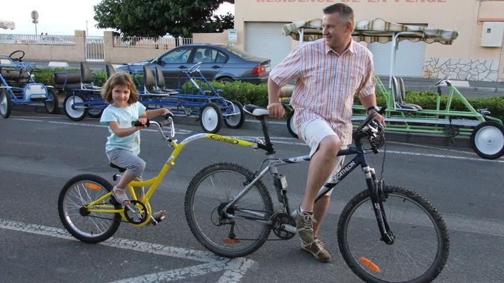 Vélo suiveur