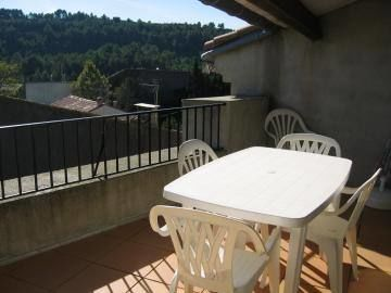 terrasse solarium privative