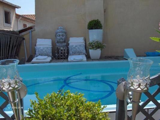 La piscine/SPA.
