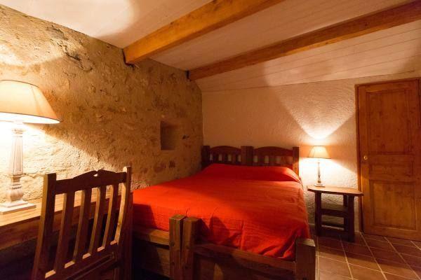 la chambre au  lit 160cm