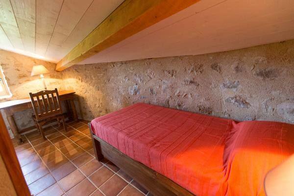 La chambre mansardée au lit 1 personne