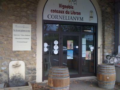 Caveau de vente Cave Coopérative Corneilhan