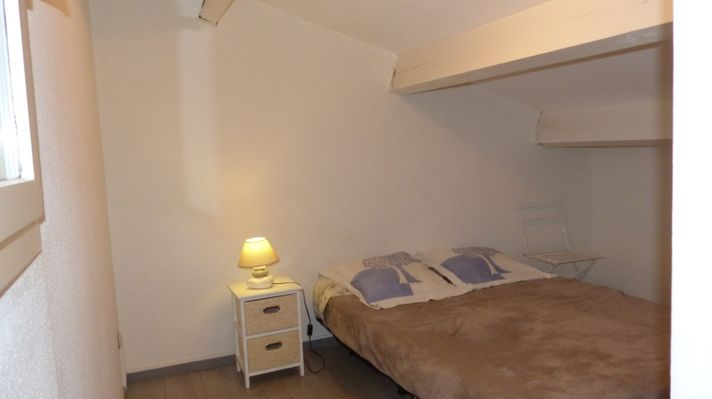 Chambre lit double  - Valras-Plage
