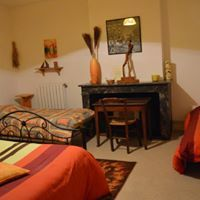 chambre jaune chez Camille