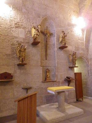 chapelle basilicale restaurée-Basilique St Aphrodise-MBP