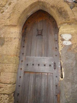 circulade Alignan du vent-porte gothique-Photo MBP