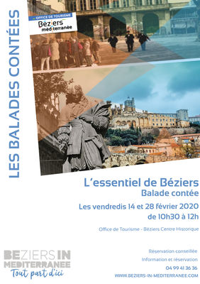"Balade contée ""L'essentiel de Béziers"""