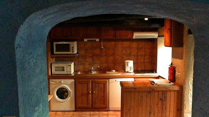 Gignole, la cuisine, Domaine de Lacan