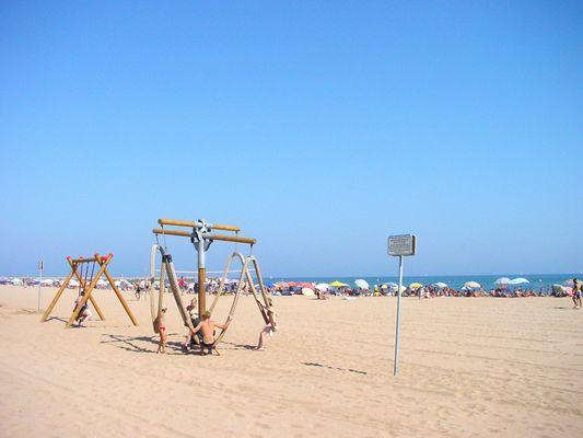 Résidence Alizéa Beach - Jeux enfants - Valras-Plage