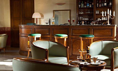 logis herault - chateau siran - salon