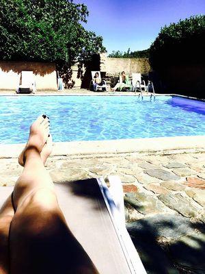 La piscine du Domaine de Lacan