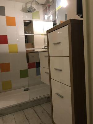 salle-d'eau douche à l'italienne