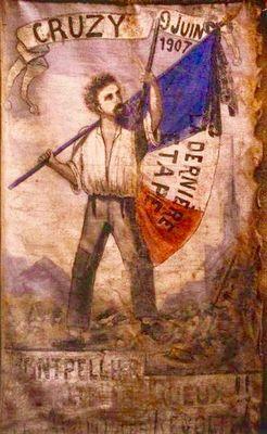 Banière révolte 1907