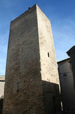 tour médiévale- circulade d'Alignan-Karine Grégoire