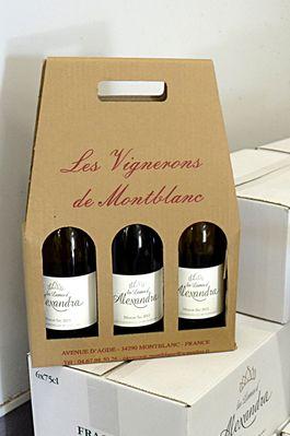 vignerons de montblanc coffret 3 bouteilles