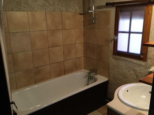 L'Estampanière - la salle de bains - Domaine de Lacan